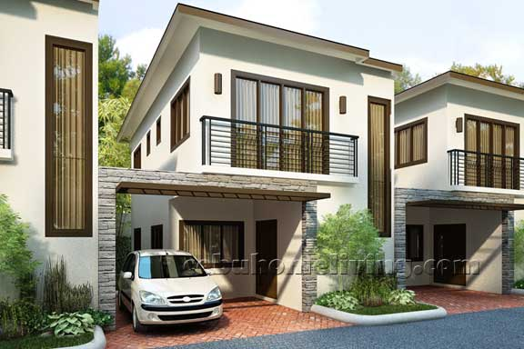 Dreamhomes guadalupe house and lot in cebu city for Townhouse design in the philippines