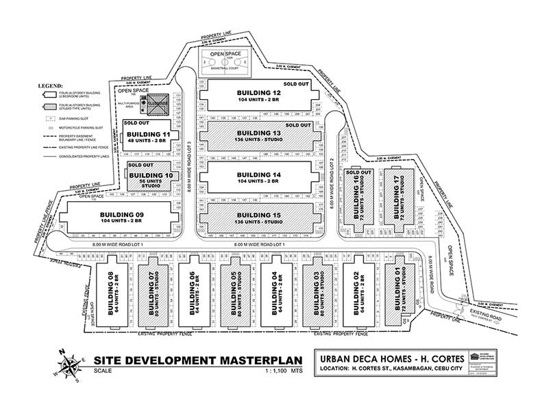 Urban Homes Kasambagan Site Map