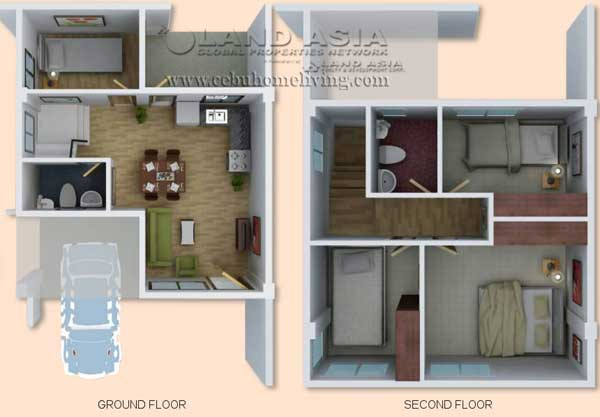 28 80 square meters house floor ajoya in lapu lapu for 80 square meter house design
