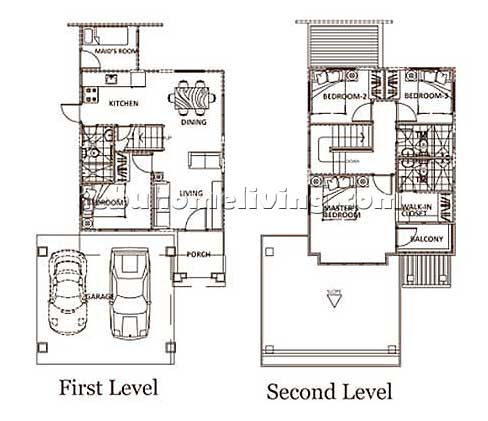 South glendale talisay city house and lot cebu Servant quarters floor plans