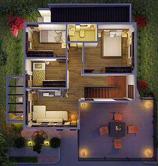 Modern Zen House Design With Floor Plan Philippines Meze Blog